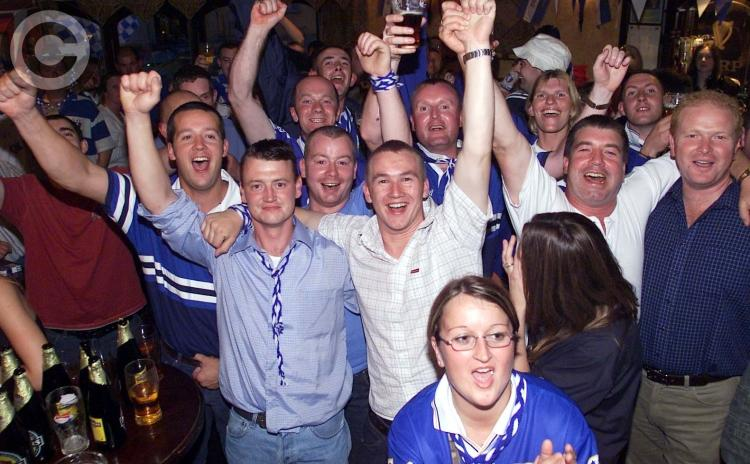 PICTURES: A look back at the Laois GAA Leinster senior football final homecoming in 2003