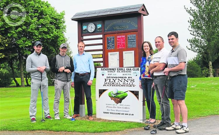 No hurlers on the ditch at the Rathdowney Errill GAA Golf Classic