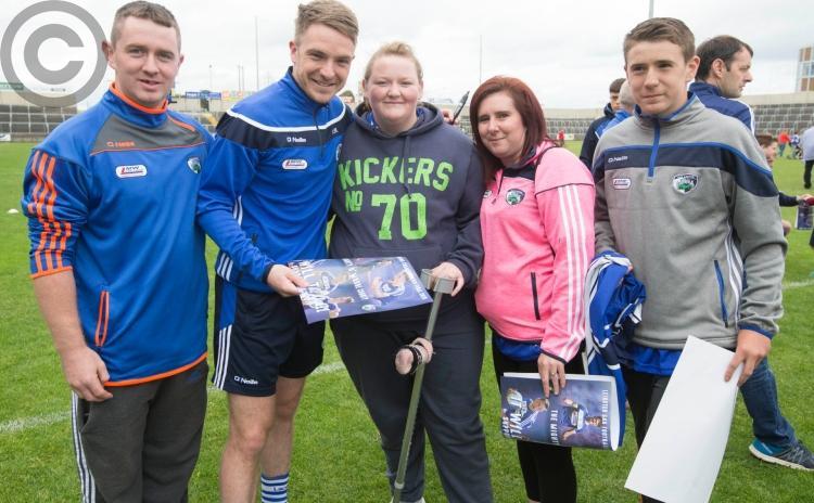 Laois senior footballers meet the fans ahead of Leinster final with Dublin