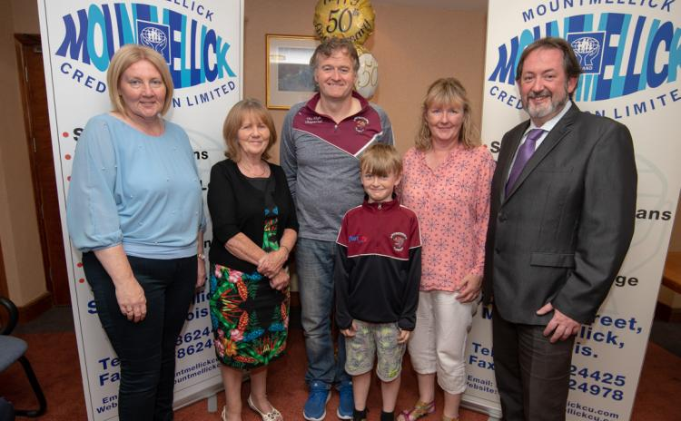 GAA and soccer clubs celebrate support from Mountmellick Credit Union