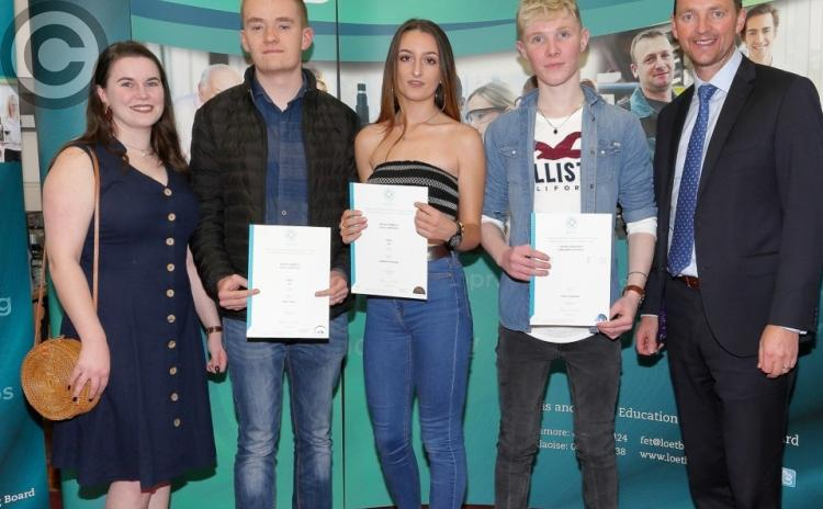PICTURES - Adult education awards night at Abbeyleix Further Education Centre
