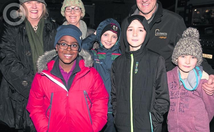 PICTURES: Glowing night at traditional Christmas tree lighting in Mountmellick