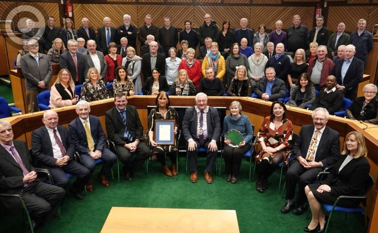 Determined Durrow honoured in Laois County Hall