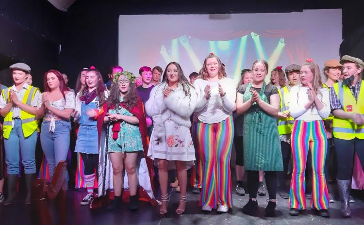 Great photos from the opening night of a Laois school's musical