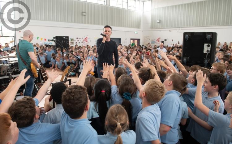 Transmitter rocks Portlaoise school in pictures