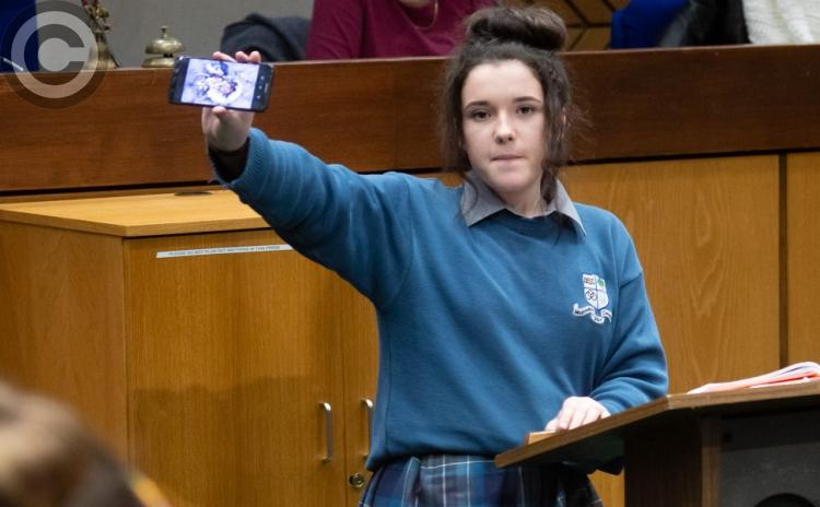 GALLERY: Laois winners in the Europe Direct Soapbox debate on climate change