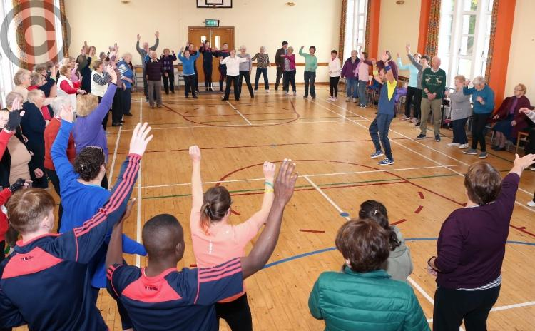 Connecting activity to mental health at Laois Connects event in Mountrath - in pictures