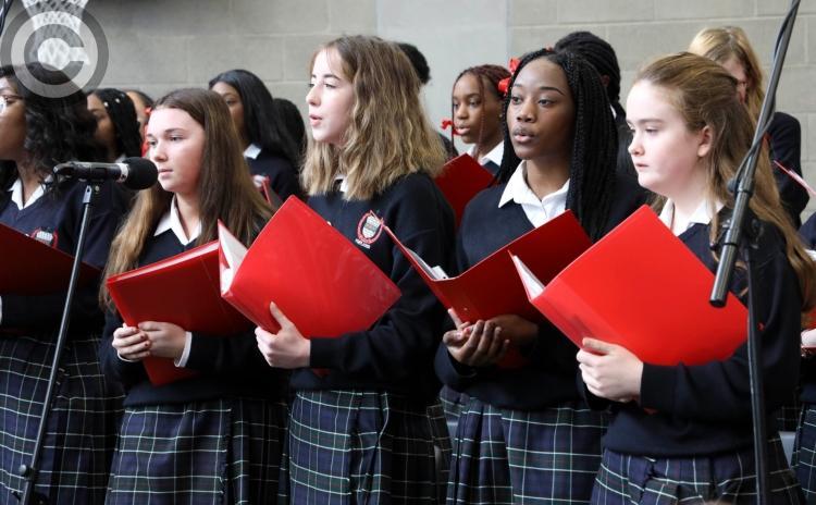 GALLERY: Golden Jubilee Mass of Scoil Chríost Rí school Portlaoise