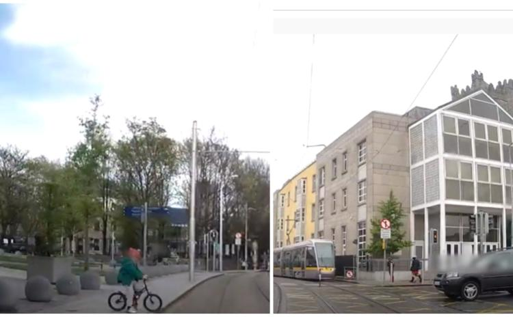 WATCH: Terrifying footage of Luas near misses released by operators