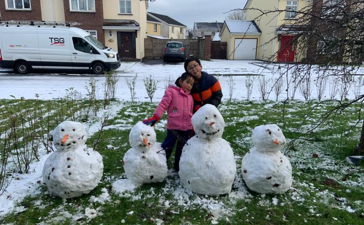 SNOWY LAOIS 3: Lots more of our readers' photos