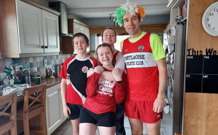 Laois virtual 5k a real big success for Laois Sports Partnership, Portlaoise Athletics and Laois Guide Dogs - #pictures