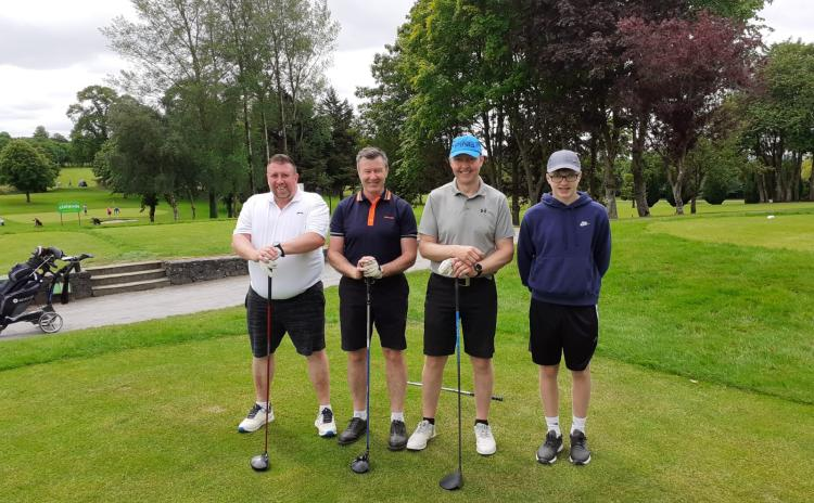 GALLERY: Laois hurlers Golf society honour late founding member with opening outing of the year