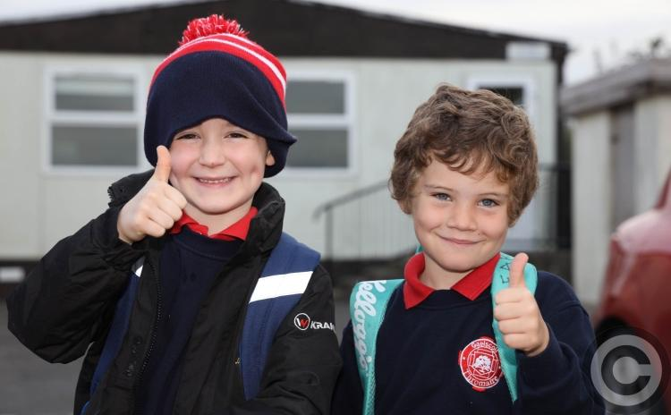 In Pictures: New era dawns in Laois for Gaelscoil Thromaire