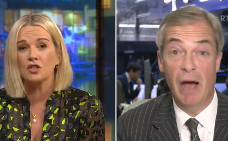 'You haven't got a clue' - Presenter loses cool with former British MP on Irish history