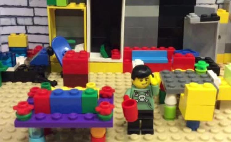 WATCH: Sneak peak at LEGO stop animation movie created by Laois children