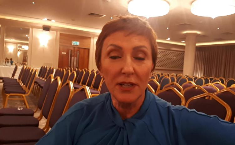 WATCH: Majella O'Donnell has something to say to Laois