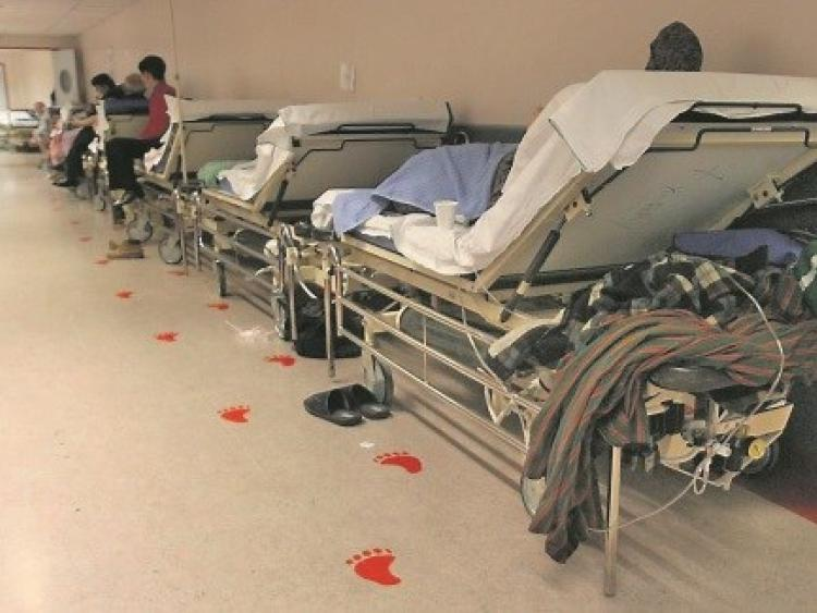 Letterkenny hospital has 35 people waiting for a bed today