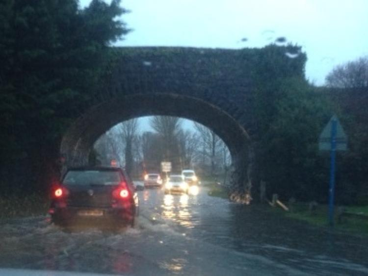 Heavy rain leads to 'unprecedented' flooding in Co Laois