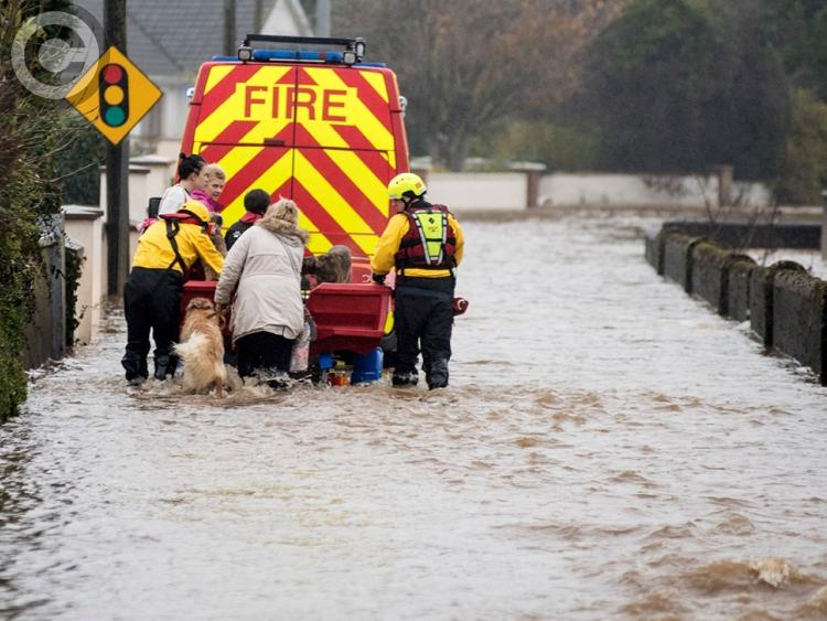 President Higgins praises rescue efforts after floods hit Co Laois