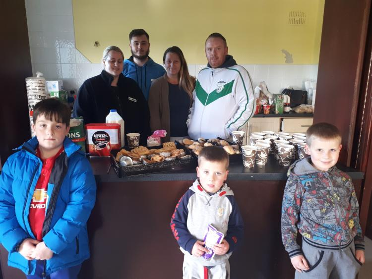 Durrow regional news mountmellick flood hot meals available for the public hit by floods and emergency workers malvernweather Choice Image