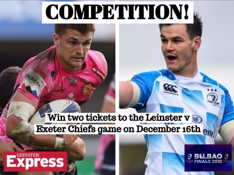 Competition Win Two Tickets To The Leinster V Exeter Chiefs Champions ...