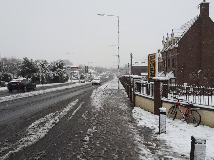 Yellow warning across the North East for ice and snow