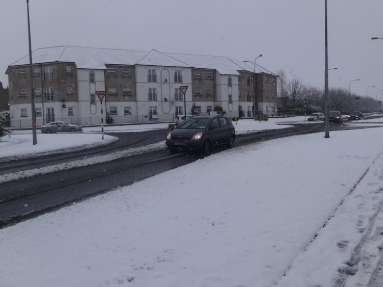 Police snow warning for Falkirk 'Get home as early as possible'