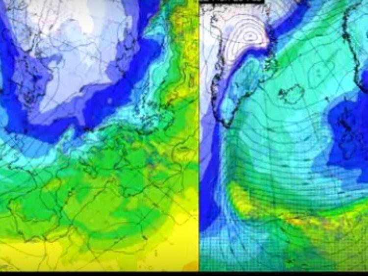 Cold and possibly very cold- UK Met Office has generated two images of what the weather could look like next week