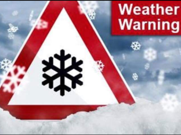 Snow warning for Cumbria extended into Saturday