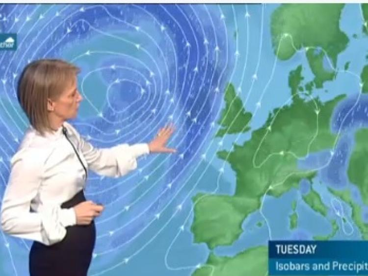 Met Eireann Weather Forecast for the week ahead in Kildare