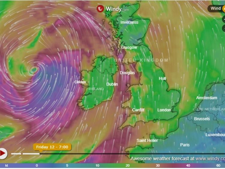 Key Messages for Storm Callum