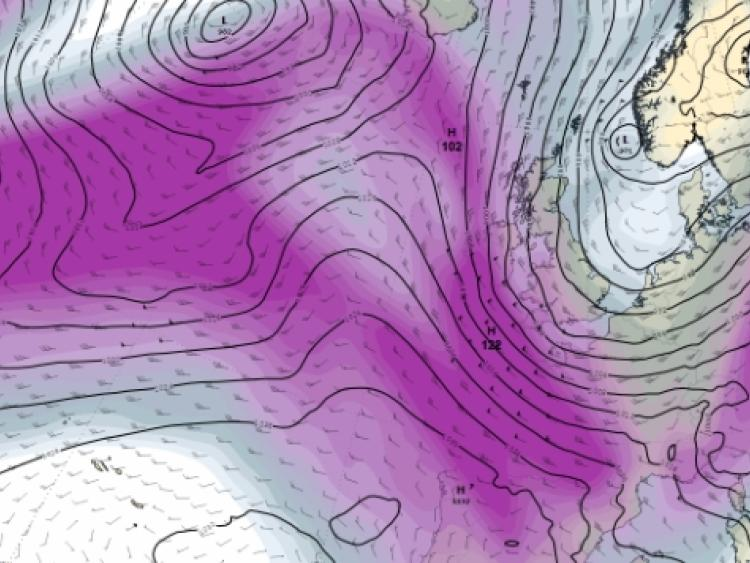 Wind weather warning issued for Cork this Sunday and Monday