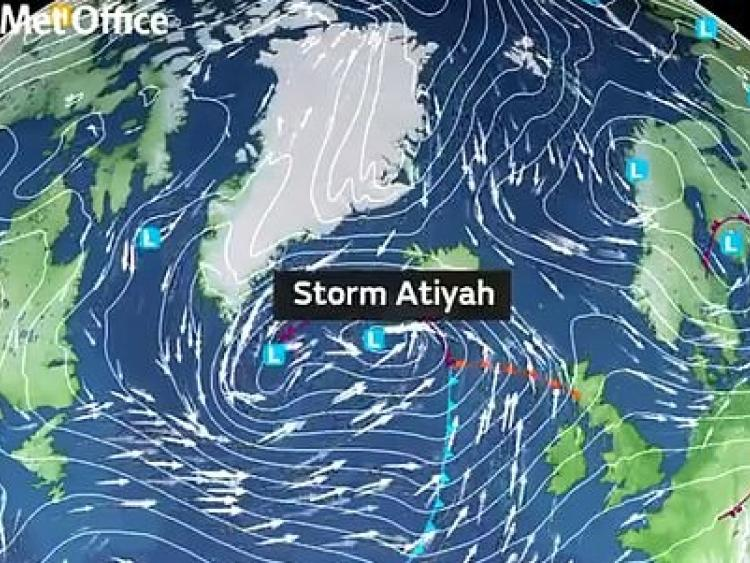 First named storm of the season Storm Atiyah hits Britain on Sunday