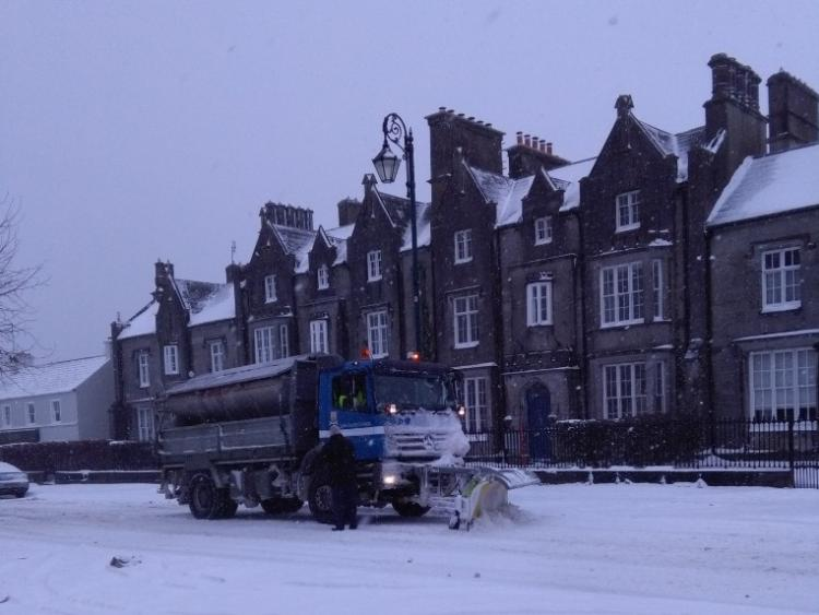A snow-ice warning has been issued for all of Ireland