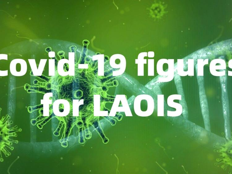 New cases of Covid-19 in Laois this Bank Holiday Monday