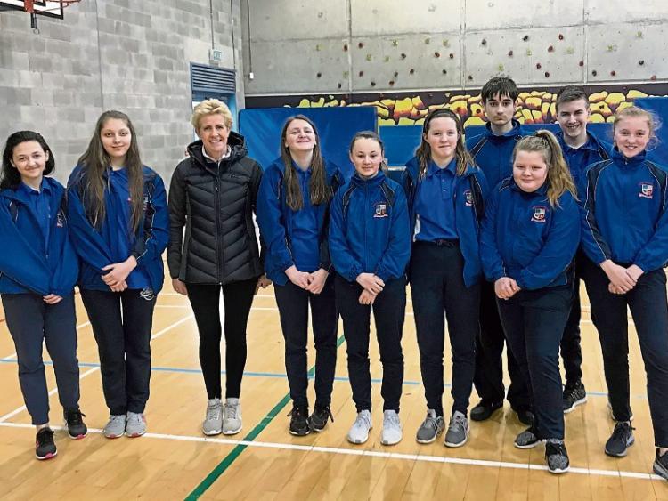 Athletics legend launches 5k run in Portlaoise College - Leinster