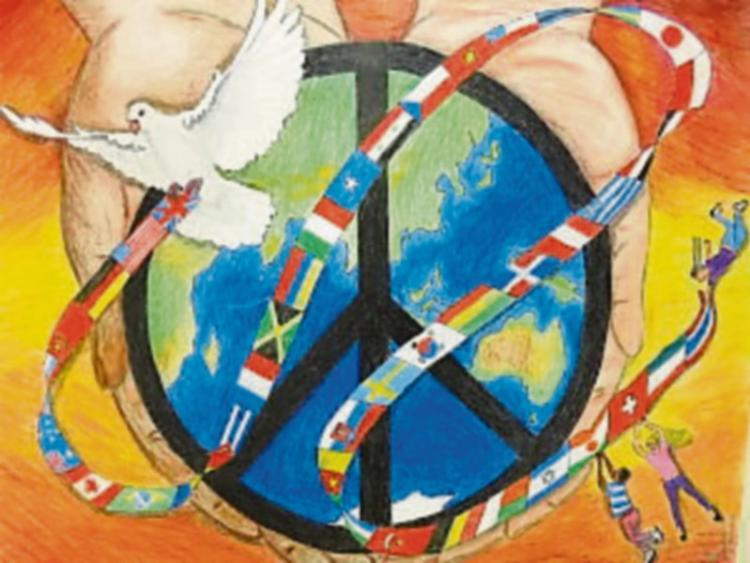 Lions Club Peace Poster Competition Time In Portlaoise Leinster