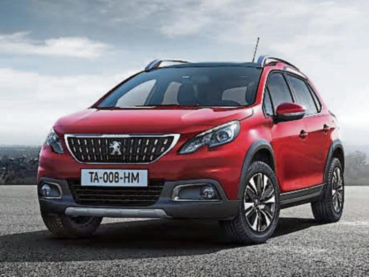 new peugeot 2008 wins irish small suv of the year leinster express. Black Bedroom Furniture Sets. Home Design Ideas