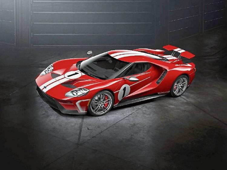 Ford Gt In Limited Edition Heritage Theme