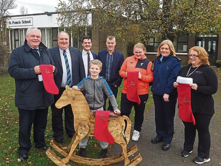 Rosenallis regional news a beautiful wooden rocking horse was gifted to the students of st francis school this week the rocking horse was made by one prisoner in portlaoise prison malvernweather Choice Image