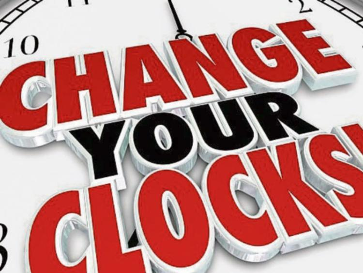 When do the clocks go back this weekend