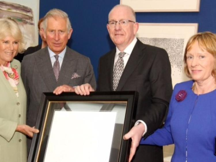 Prince Charles Welcomed To Kilkenny By Laois Td And