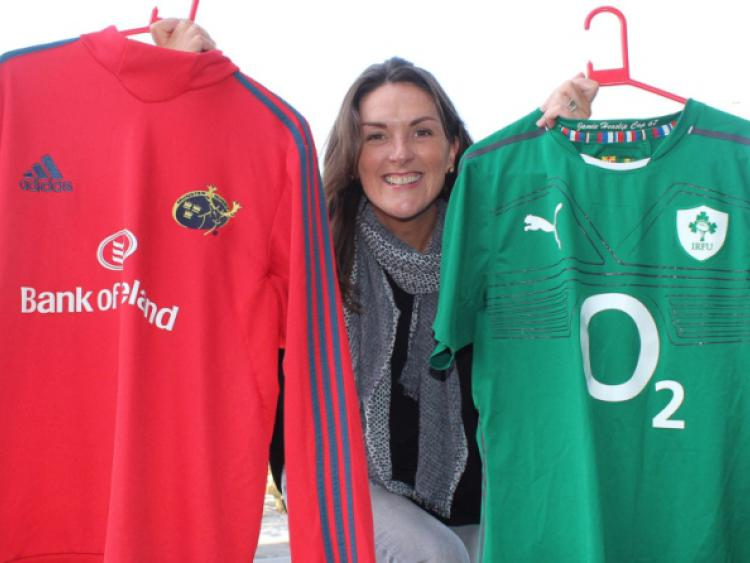 8d860a36857 Wife of late Irish and Munster rugby star to speak in Portlaoise ...