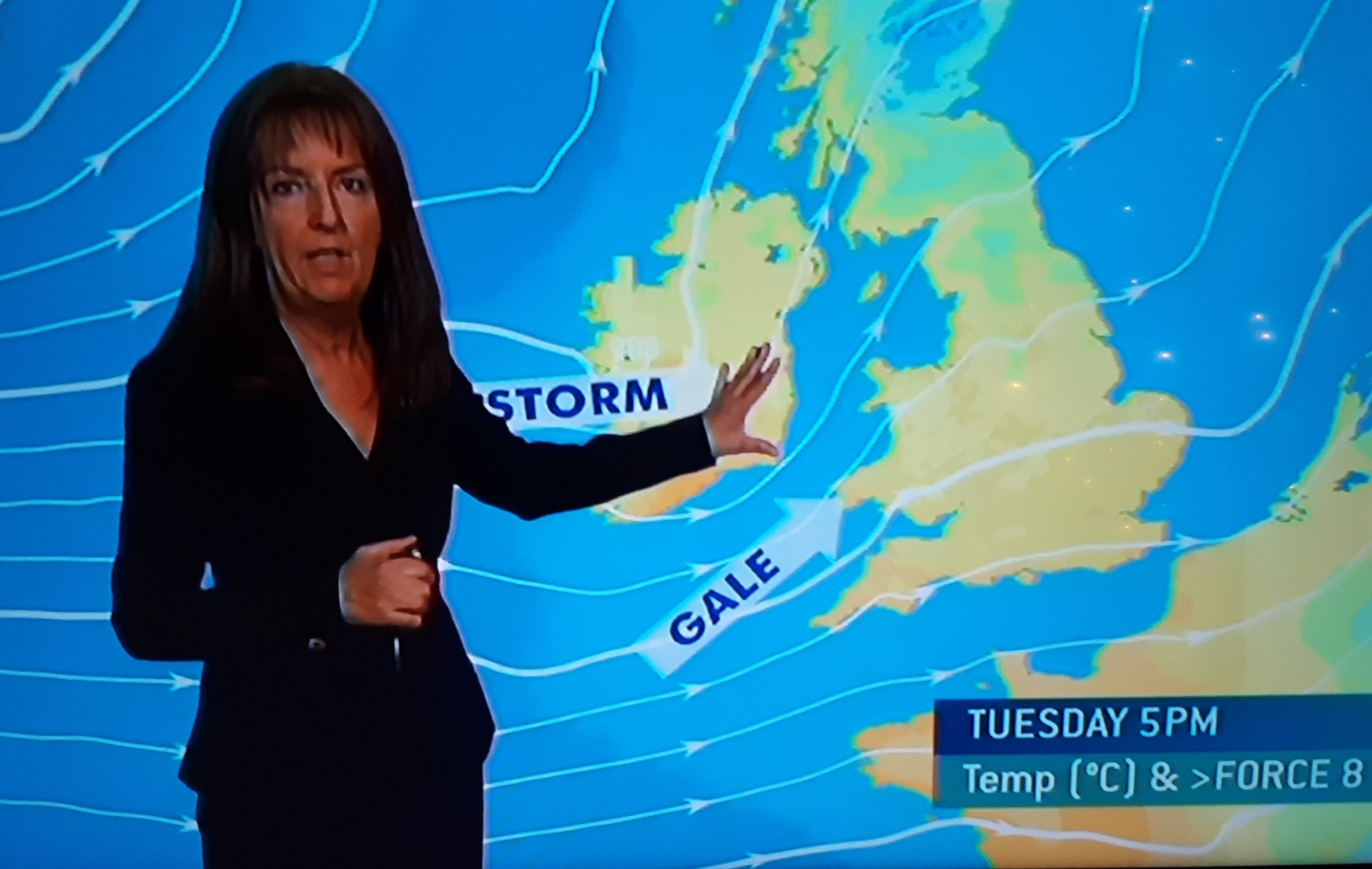 Storm Eleanor on the way