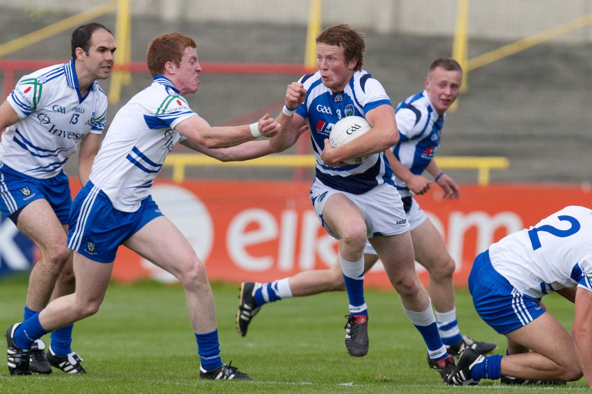 Kevin Meaney breaks out of defence